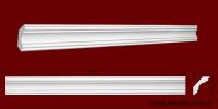 Код товара КЛ0500501. Карниз из гипса длиной 1000мм. Габариты: 50мм х 50мм. Розничная цена 75 грн/шт.