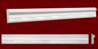 Код товара МP09001. Молдинг из гипса шириной 90 мм и длиной 747 мм. Розничная цена 110 грн./шт.