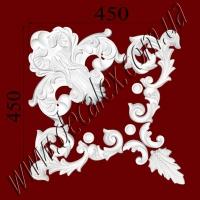 Рис. УН47. Гипсовый наборной угол составлен из элементов орнамента: ФР0010 (1шт), ФР00291 (2шт),  ФР0040 (3шт), ФР0087 (1шт) - 470 грн/1 угол