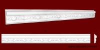 Код товара МP08002. Молдинг из гипса шириной 80 мм и длиной 920 мм. Розничная цена 120 грн./шт.