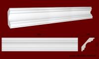 Код товара КЛ2002001. Карниз из гипса длиной 500 мм . Габариты: выс 200мм х глуб 200мм. Розничная цена 200 грн/шт.