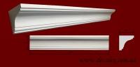 Код товара КЛ0600631. Карниз из гипса длиной 810мм. Габариты: 60мм х 63мм. Розничная цена 110 грн/шт.