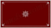 Рис. П018. Размер потолка: 3100х5500 мм..По краям потолка использован карниз: КР70702 (18шт). Рамка состоит из молдинга: МЛ2502 (13шт), ГЛ2502-5 (8шт). Наборной угол составлен из элементов орнамента: ФР0018 (1шт), ФР0028 (2шт), ФР0009 (2шт), ФР0004 (1шт), ФР0013 (1шт). Наборная потолочная розетка составлена из элементов орнамента: ФР0027 (8шт); ФР0009 (8шт); ФР0004 (4шт); ФР0019 (8шт); ФР0018 (8шт), потолочная розетка РЗ 180 (1шт).