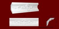 Код товара КР1201251БВ. Карниз из гипса длиной 550мм. Габариты: 120мм х 125мм. Розничная цена 260 грн./шт.Минимальный заказ 4 штуки.