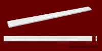 Код товара ПТ0631.  Тело пилястры из гипса шириной 63 мм и длиной 1001 мм. Розничная цена 100 грн./шт.