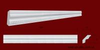 Код товара КР0350351. Карниз из гипса длиной 1005мм. Габариты: 35 мм х 35 мм. Розничная цена 75 грн./шт.