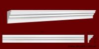 Код товара КЛ0500351. Карниз из гипса длиной 1008мм. Габариты: 50мм х 35мм. Розничная цена 75 грн/шт.