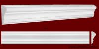Код товара МЛ11001. Молдинг из гипса шириной 110 мм и длиной 1013 мм. Розничная цена 120 грн./шт.