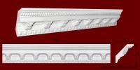 Код товара КР0970951. Карниз из гипса длиной 800мм. Габариты: 95мм х 97мм. Розничная цена 130 грн./шт.Минимальный заказ 10 метров.