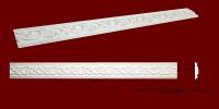 Код товара МP10201. Молдинг из гипса шириной 102 мм и длиной 895 мм. Розничная цена 120 грн./шт.