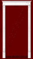 Гипсовый портал  Состоит из элементов:базы ПБ1103(2шт),тел пилястр ПТ1101(4шт),квадратных вставок между телами пилястр и фронтоном кв03(2шт) ,фронтонов ДП02 (2шт) и окончаний к фронтону ПК1352(1шт)  Высота проема 2400мм(габаритная высота портала 2600мм),ширина дверного проема 1500мм(габаритная ширина 1800мм).  Розничная цена элементов составляет 1720 грн.